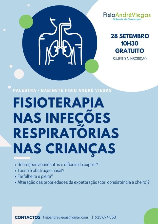 Palestra - Fisioterapia nas infeções respiratórias
